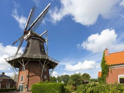 Sfeerfoto Molen Hollands Welvaart