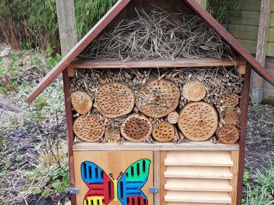 insectenhotel ingestuurd door lezer GR